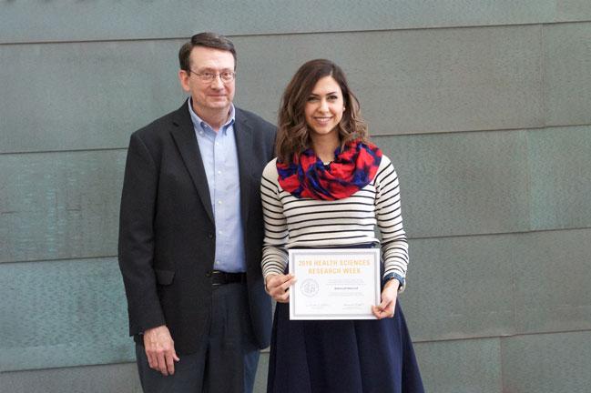 Behnoush Khorsand receives award