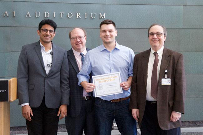 Daniel Matasic receives award