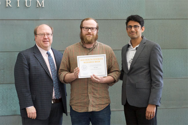 Kyle Flippo receives award