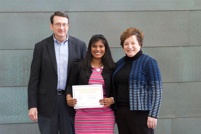 Laxmi Shanthi Chede receives award