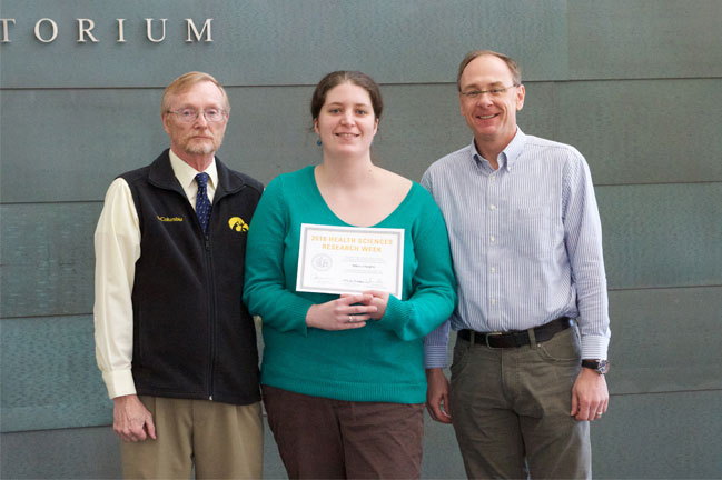 Rebecca Taugher receives award