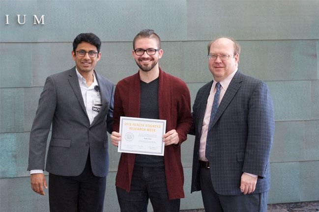Tanner Reeb receives award