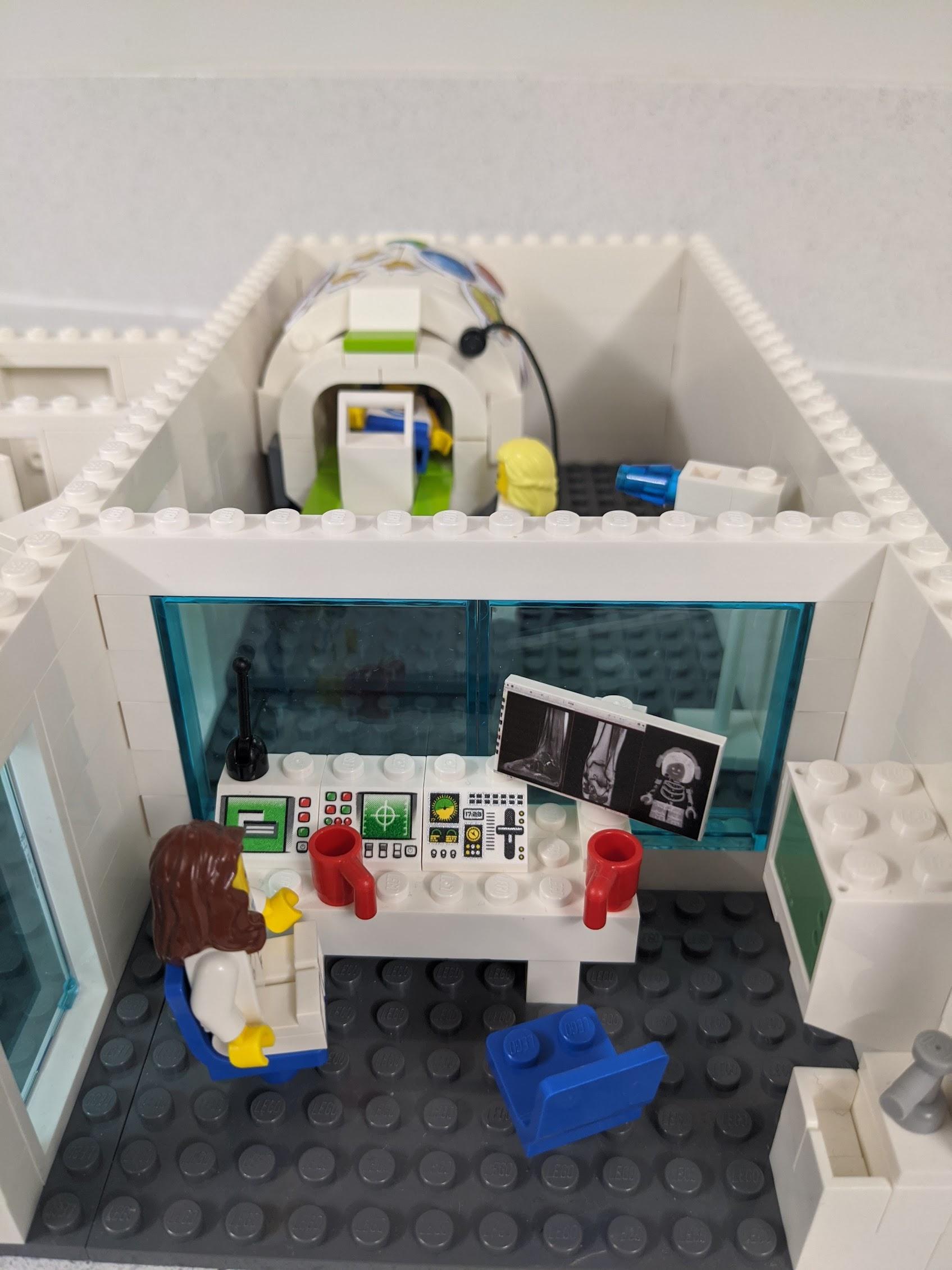 Lego diagram of MRI