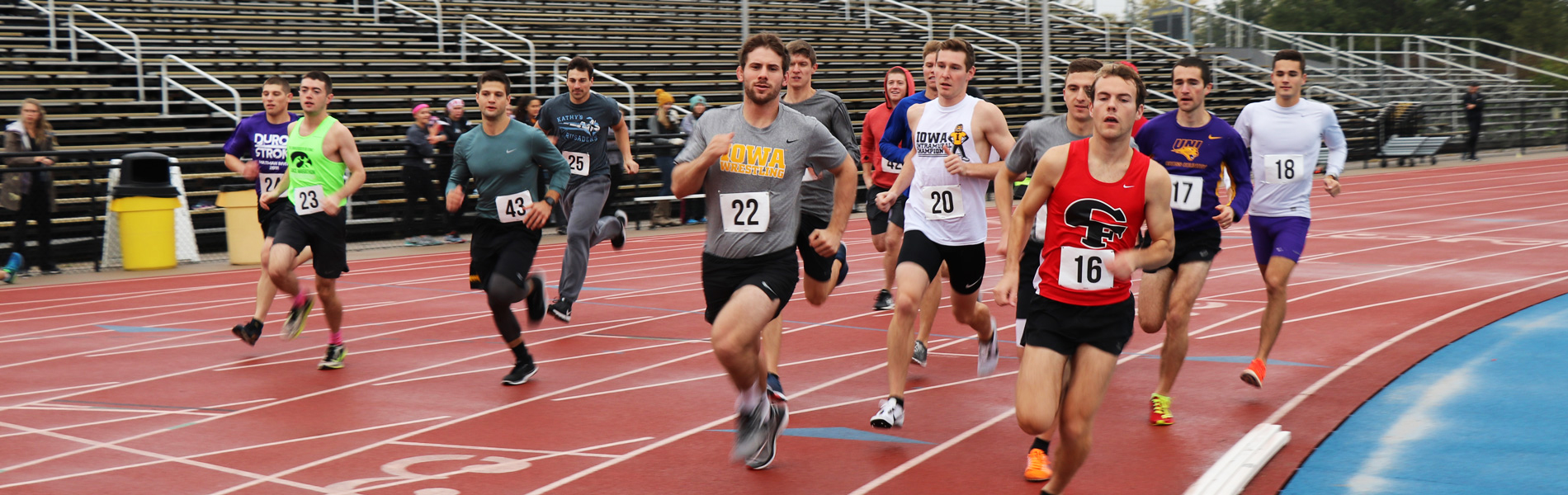 Black and Gold mile run