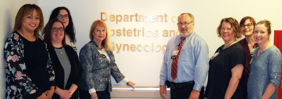University of Iowa Obstetrics and Gynecology team