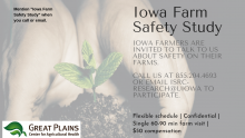 Iowa Farm Safety Study promotional image
