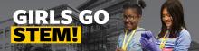 Girls Go STEM promotional image