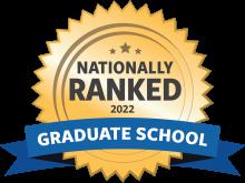 Graduate school badge for 2022
