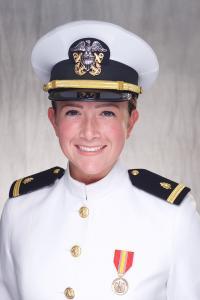 Sophia Williams-Perez, portrait in uniform