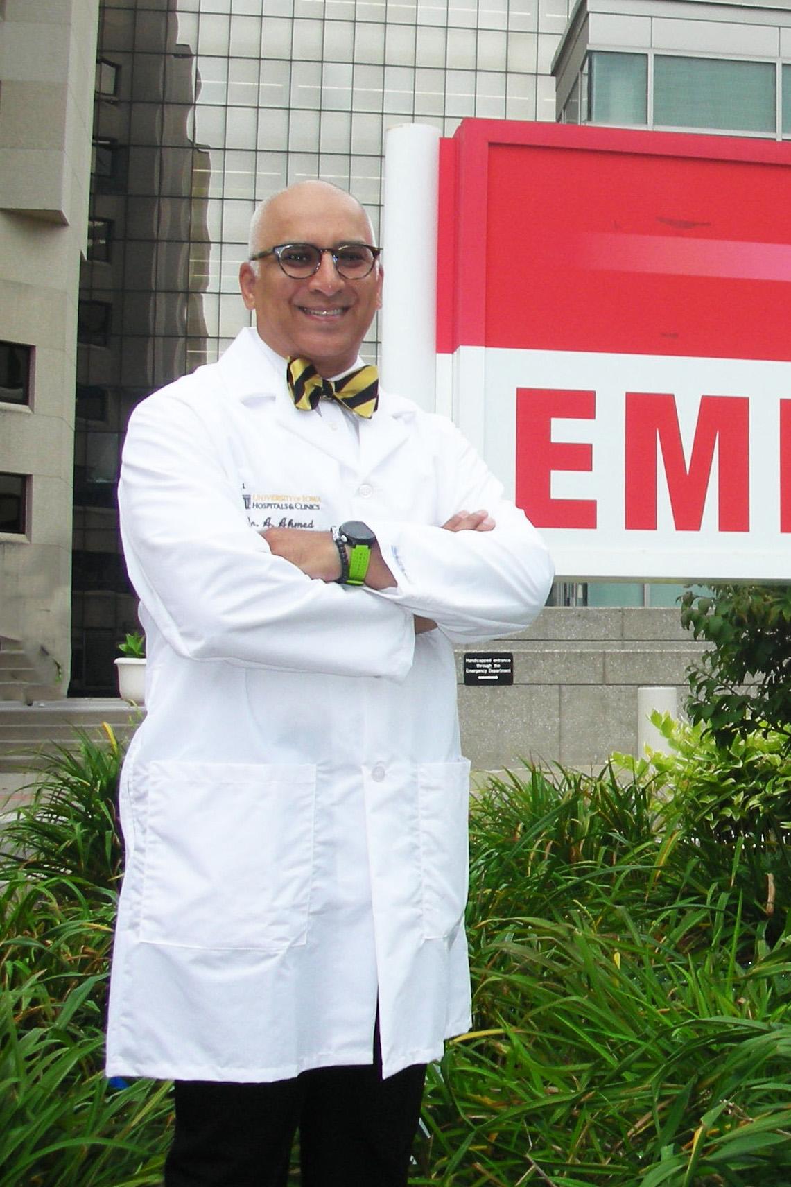 Azeem Ahmen, MD, MBA