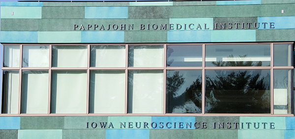 Iowa Neuroscience Institute sign