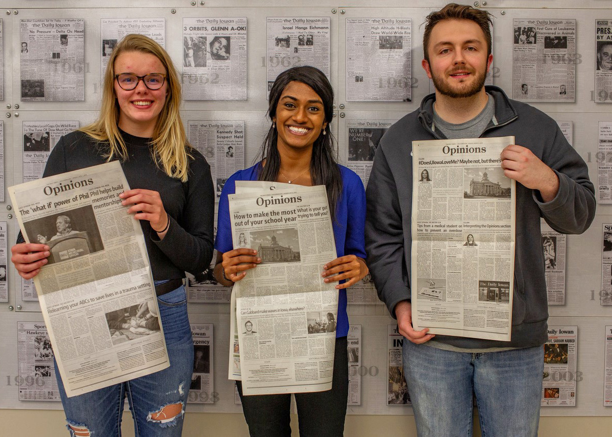 Medicine student starts new column in The Daily Iowan | Carver