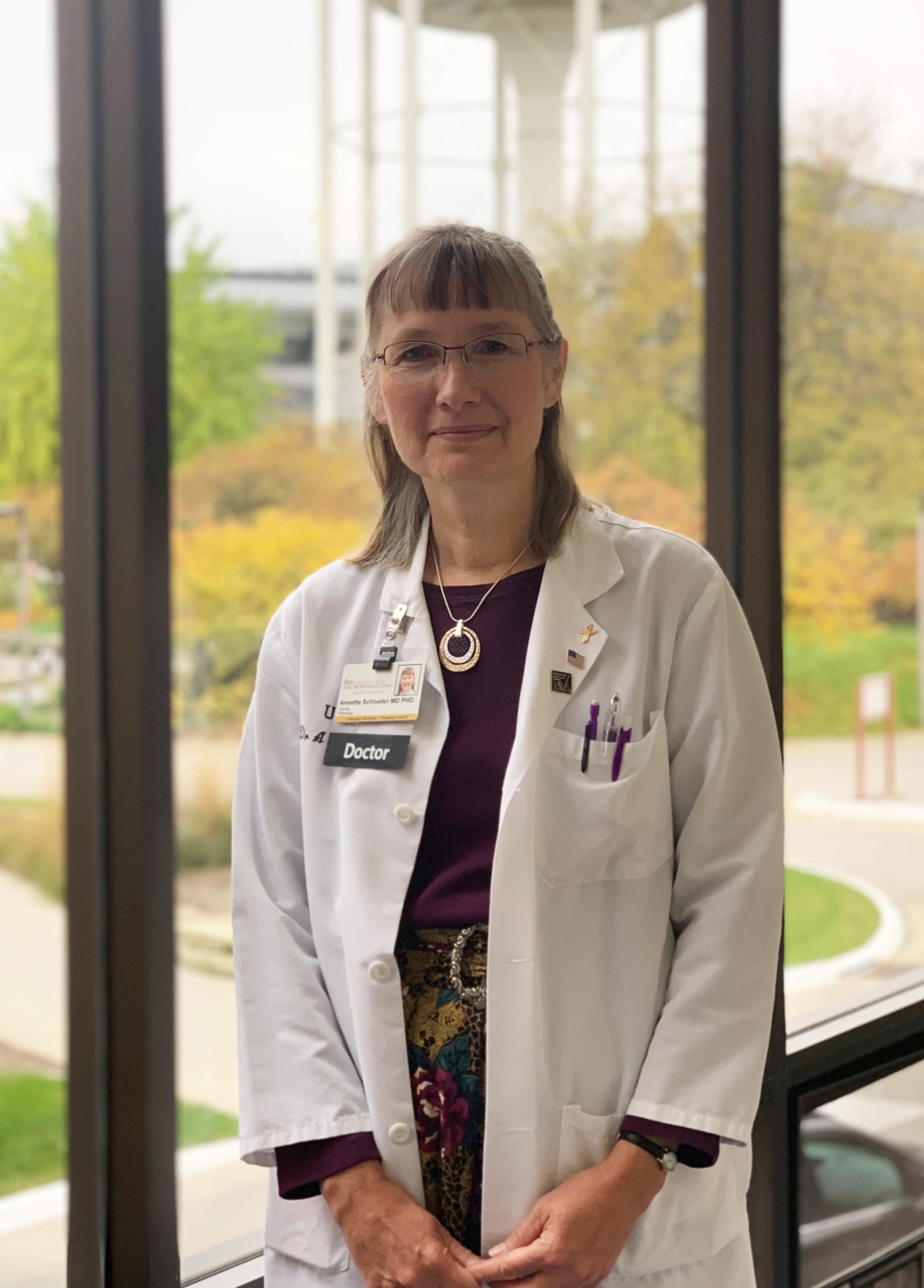 Annette Schlueter, MD, PhD