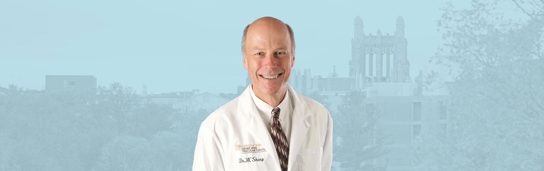 Dr. Sharp banner for 2019 award