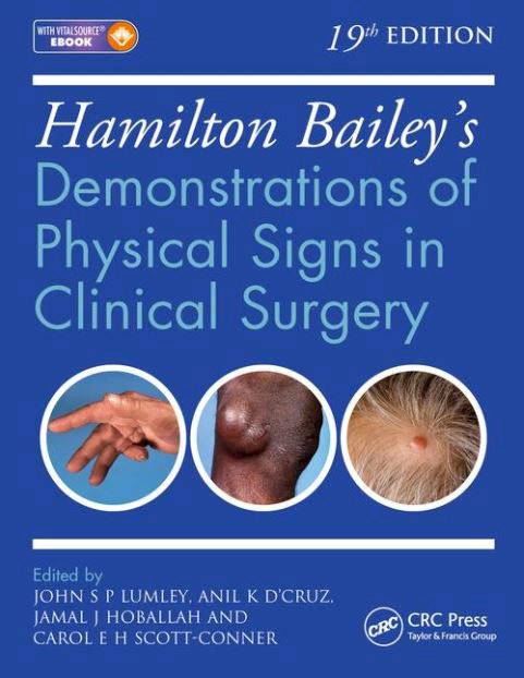Hamilton Bailey's Physical Signs cover image